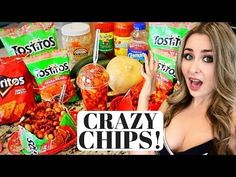 Tostilocos & Churros Locos for Restaurant or Party Mexican Chips, Mexican Snacks, Mexican Food Recipes, Snack Recipes, Tamarind Candy, Pork Rinds, Food Videos, Cravings, I Am Awesome