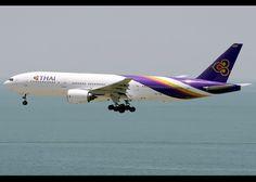 Boeing | 777-2D7 | Thai Airways International | HS-TJD | Hong Kong | HKG | VHHH