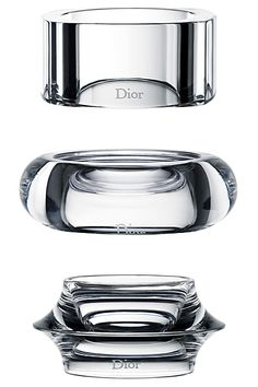 going gaga over these lucite bracelets! Dior Cruise