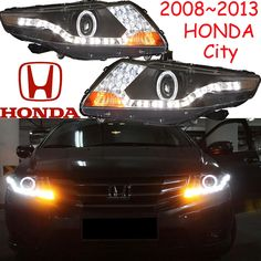 496.80$  Watch now - http://alijbe.worldwells.pw/go.php?t=32721936089 - City headlight,2008~2012(Fit for LHD,RHD),Free ship! City daytime light,2ps/se+2pcs Aozoom Ballast,crosstour,Vezel,City