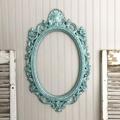 Vintage mirrors are all the rage in home decor. This beautiful mirror has been hand painted In a aqua blue color with a pearl finish Perfect for a bathroom mirror. I put a lot of time and attention to detail along with some of the best paint products on the market so you will have a truly remarkable piece. Mirror will be installed and glue in place after purchase. Measures 30tall x 17.5 wide  INSURANCE IS PROVIDED We Provide Exceptional Packaging with our custom handcrafted wood boxes. We…