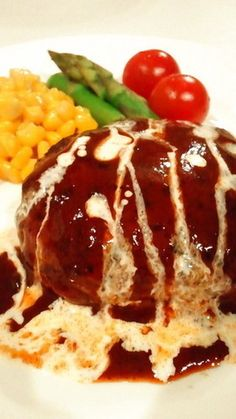 肉汁たっぷりふわふわジューシーハンバーグ