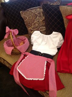 Little Red Riding Hood costume for my granddaughter Bella!!                                                                                                                                                                                 More