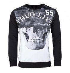 Thug Life SKULL Sweatshirt