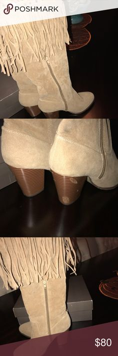 Leila boots- only worn once! Boots Shoes Ankle Boots & Booties