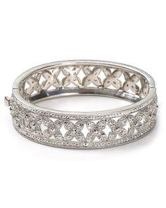 Florette Hinge Bracelet, $75.00
