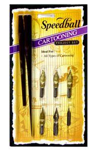 Speedball Cartooning Pen Set