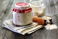homemade jar gifts - 5 grain pancake mix