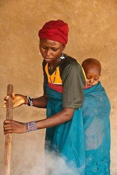 Northern Nigeria Faces Photography by Christoph...