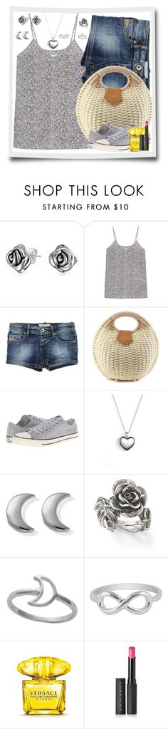 """Lazy Tuesday Afternoon"" by winscotthk ❤ liked on Polyvore featuring Bling Jewelry, Converse, Pandora, ChloBo, Natures Jewelry, Midsummer Star, Jewel Exclusive, Versace and Le Métier de Beauté"