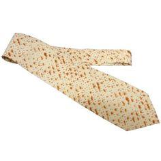 Amazon.com: Jewish Passover Matzoh Print Tie Men's Necktie: Everything Else