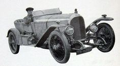 1919 Experimental (chassis EXP2) driven by W.O. Bentley
