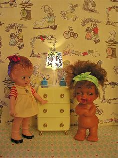 little dolls - vintage