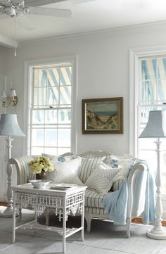 Ralph Lauren Home captures the relaxed romance of a turn-of-the-century seaside manor.