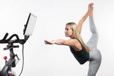 Kristin Mcgee, Peloton Bike, Killer Legs, Floor Workouts, Form Design, Leg Lifts, Yoga Fitness, Fitness Gear, Easy Install