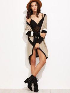 Desert Stripe Cashmere Blend Knit