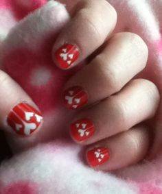 Blooming Hearts Jamberry Nails