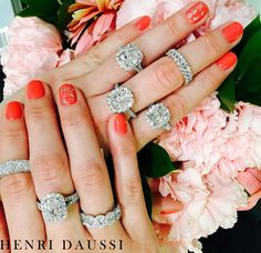 Love in full bloom <3 Choose your favorite!  http://www.smythjewelers.com/engagement-wedding.html