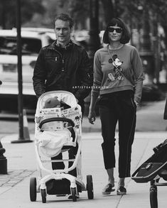 Sam Heughan Family, Think Happy Thoughts, Caitriona Balfe, Hopeless Romantic, Outlander, Baby Strollers, Cat, Happy Thoughts, Baby Prams