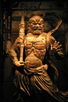 Nio statue (guardian of Buddha)