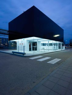 'gate house IPKW' by NL architects, arnhem, the netherlands