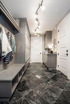 Exclusive Luxury Craftsman with No Detail Spared - - 25 Laundry Room Decor Luxury Rooms, Luxury Living, Luxury Houses, Craftsman Interior, Craftsman Decor, Craftsman Houses, Modern Craftsman, Living Room Interior, Living Rooms