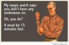 bahaha, using this. My magic watch also says that its gonna be unsuccessful... -JP
