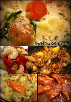 My Slow Cooker Favorites