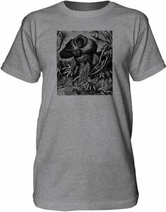 Mintage Angry Gorilla Mens Fine Jersey Tall T-Shirt
