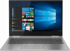 "Lenovo - Yoga 730 2-in-1 13.3"" Touch-Screen Laptop - Intel Core i5 - 8GB Memory - 256GB Solid State Drive - Platinum - Front_Zoom"