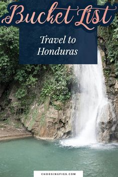 Bucket List Idea: Travel to Honduras Valry in Wonderland: Lago de Yajoa Waterfalls, rowing, and a brewery in Lago de Yajoa, Honduras. Travel Around The World, Around The Worlds, Honduras Travel, Whitewater Rafting, Life List, Find Picture, Rowing, Travel List, Landscape Photos