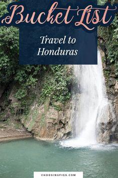 Bucket List Idea: Travel to Honduras Valry in Wonderland: Lago de Yajoa Waterfalls, rowing, and a brewery in Lago de Yajoa, Honduras. Travel Around The World, Around The Worlds, Honduras Travel, Whitewater Rafting, Life List, Rowing, Travel List, Landscape Photos, Waterfalls