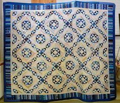 Jamestown Landing, pattern by Bonnie Hunter