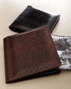 Father's Day Gift...Leather-Bound Photo Albums by Raika at Deno's of Highland Park.