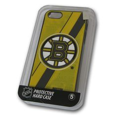 Forever Collectibles Boston Bruins Team Logo Hard Snap-On Apple iPhone 5 & 5S Case