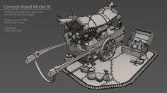 ArtStation - Concept Based & Doodles, Emerson Rosa