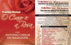 folder de balcão - O cravo e a Rosa - Antonio carlos de Magalhães