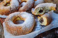 Ciambelle velocissime alla nutella biscotti ripieni vickyart arte in cucina