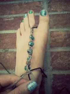 DIY slave anklet