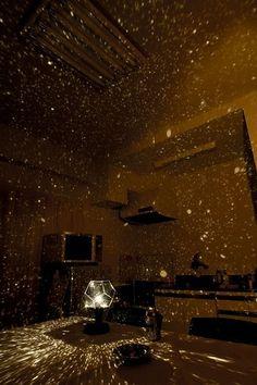 Star projector kit home romantic via thebridesguide.marthastewartweddings.com