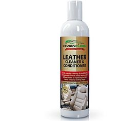 Leather Cleaner & Conditioner by KevianClean - Auto Interior Detailing, Furniture, Upholstery, Sofa, Couch, Handbag, Purse, Shoe, Boot, Jacket, Car Seat Care, Protector and Restoration - 8 oz.. For product info go to:  https://www.caraccessoriesonlinemarket.com/leather-cleaner-conditioner-by-kevianclean-auto-interior-detailing-furniture-upholstery-sofa-couch-handbag-purse-shoe-boot-jacket-car-seat-care-protector-and-restoration-8-oz/