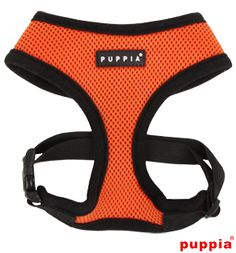 *****PUPPIA ORANGE SOFT HARNESS*****  Available at www.ilovepugs.co.uk  post worldwide