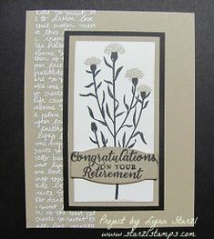 Wild About Flowers stamp set, Project Life Cards & Labels...