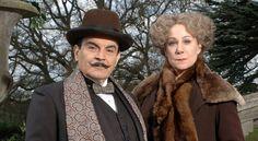 David Suchet interprétant Hercule Poirot dans TÉMOIN MUET
