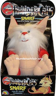 Snarf Dolls, oh man, why did I not have one of these?