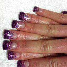 Jersey Shore Flare Nails...well that is just atrocious.