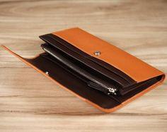 Sullivan Long Wallet - Orange