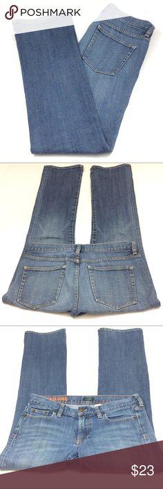 J. Crew Factory Hipslung jeans size 28 J. Crew Factory Hipslung jeans size 28. Measurements, waist 32 inches, rise 8 inches and inseam 31 1/2 inches, all measurements are approximate. GUC questions??? Please ask J. Crew Factory Jeans