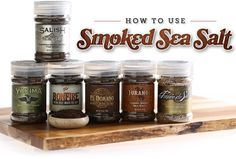 How to use Smoked Salt