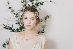 The Secret Garden - the new 2016 collection of bridal accessories by Debbie Carlisle.